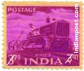 TRACTOR 0354 Indian Post