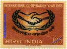 INTERNATIONAL CO-OPERATION YEAR 0502 Indian Post