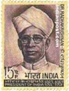 DR. SARVEPALLI RADHAKRISHNAN 0552 Indian Post