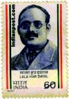 LALA HARDAYAL 1231 Indian Post