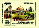 BOMBAY G.P.O 1334 Indian Post