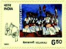 VELAKALI 1451 Indian Post