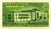 OSMANIA UNIVERSITY 0586 Indian Post